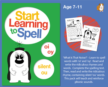 'What Is That Noise?' Spell Words With 'oi' and 'oy': Learn To Spell With Phonic
