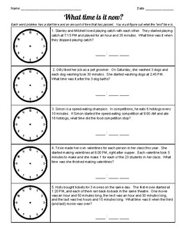 """""""What Time Is It Now?"""" Elapsed Time Wkst"""