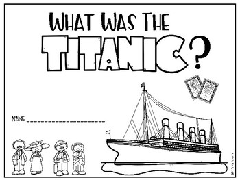 """""""What Was the Titanic"""" A Book Study"""
