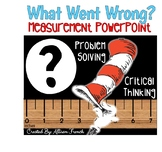 """What Went Wrong?"" Read Across America themed Measurement"