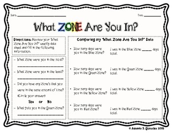 """""""What Zone Are You In?"""" Check In and Student Data Collection"""
