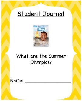 """What are the Summer Olympics?"" by Gail Herman Questions/S"