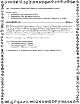 """""""What are your strengths?"""" Job Interview Question Guide"""