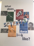 """What does a scientist look like?"" display"