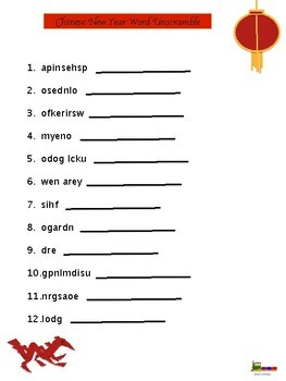 What is Chinese New Year? BUNDLE! Text and Activities