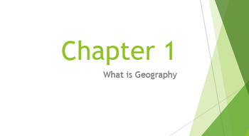 """What is Geography?"" Bundle"