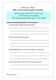'What is Treacher Collins Syndrome?' Worksheet - Wonder No