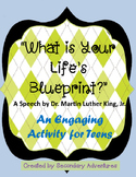 """What is Your Life's Blueprint?"" Lesson Activity"
