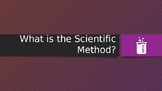 """""""What is the Scientific Method?"""" PowerPoint"""