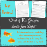 """""""What of This Goldfish, Would You Wish?"""" Test Review"""