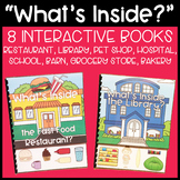 """What's Inside?"" Interactive Book Set: Community Places"