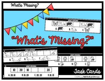 """What's Missing?"" Task Cards"