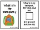 """""""What's in My Backpack?"""" An Adapted Speech Therapy Book for Back-to-School"""
