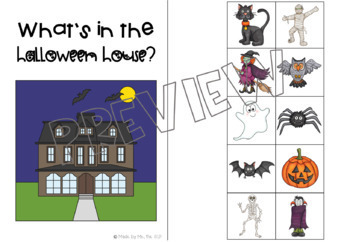 """What's in the Halloween House?"": An adapted nursery rhyme book"