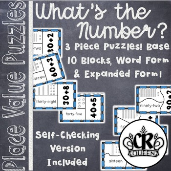 'What's the Number' Place Value Puzzles