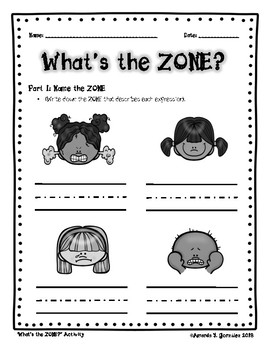 """What's the Zone?"" Activity"