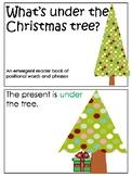"""What's under the tree"" Emergent Reader"