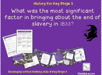 'What was the most significant factor in bringing about the end of slavery?'