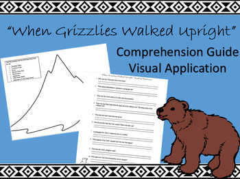 """""""When Grizzlies Walked Upright"""" Worksheets"""