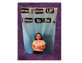 """""""When I Grow Up I Want to Be..."""" Bulletin Board"""
