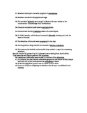 """When the Moores Ruled Europe"" Movie worksheet"