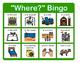 """Where?"" Bingo - Answering ""Where?"" Questions"