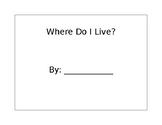"""Where Do I Live?"" Packet"
