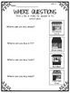 'Where' Questions Interactive Book for Students with Autism