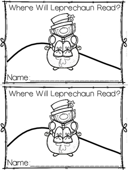 """Where Will Leprechaun Read?"" (A March Emergent Reader Dol"