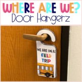 """Where are we?"" Door Hangers"