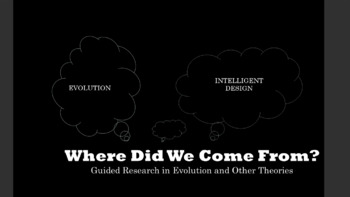 """""""Where did we come from"""": Research in Evolution and Other Theories"""
