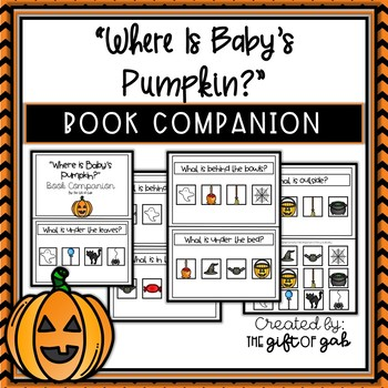 """Where is Baby's Pumpkin?"" Book Companion"