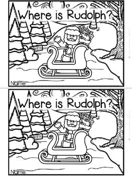 """Where is Rudolph?"" Emergent Reader (A Christmas/December Dollar Deal)"