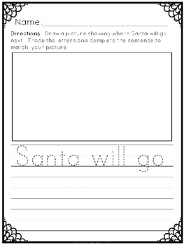 """Where is Santa?"" Emergent Reader (A Christmas/December Dollar Deal)"