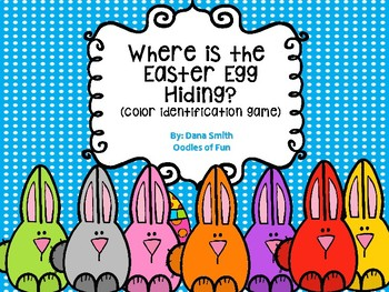 """Where is the Easter egg hiding?""  (color identification game)"