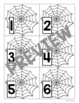 """""""Where's the Spider?"""" Pocket Chart Game (Upper & Lowercase Letters and Numbers)"""