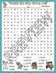 Where the Wild Things Are Activities Sendak Crossword Puzzle & Word Searches