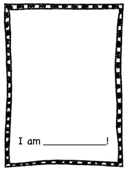 """Who Am I?"" Class Book Freebie"