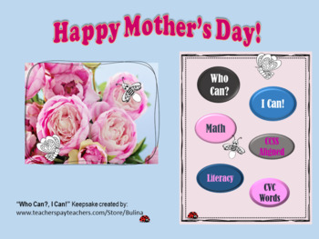Mother's Day Writing and Math Activities for Exploring Minds!