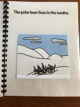 """Who Lives in the Tundra?"" Flap Book/ Adapted Book"