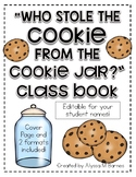 """""""Who Stole The Cookie From The Cookie Jar?"""" Class Book"""