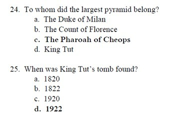 """Who Was King Tut?"" Reading Level O; Biography; 30 reading comp. questions"