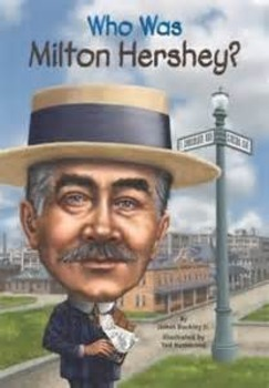 """""""Who Was Milton Hershey?"""" Complete Comprehension Questions"""