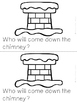 """Who Will Come Down the Chimney?"" Emergent Reader (Christm"