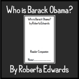 """""""Who is Barack Obama?"""" by Roberta Edwards - Chapter Questions"""