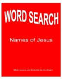 """""""Names of Jesus"""" Word Search - Great learning tool for students!"""