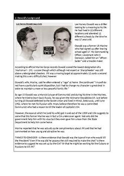 Who killed JFK? History Mystery