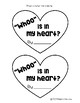 """Whoo"" Is In My Heart? {Valentine Craftivity}"