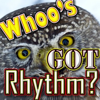 "Easy Rhythm Game - ""Whoo's Got Rhythm"" - Quarter Note Quar"