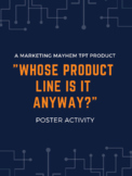 """Whose Product Line Is It Anyway?"" Poster Activity"